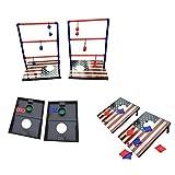 SPORT BEATS 3 in 1 Combo Toss Games,Ladder Ball Toss,Corn Hole Boards Bean Bag Toss Game, Washers Toss...
