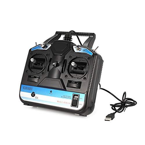 Ballylelly-8CH RC Flugsimulator RC Sender für Phoenix 1/2/3/4/5 Freerider + XTR + FMS + AeroFly RealFlight G3 / G4 / G5 / G6 / G7 XP WIN7 WIN8 Systeme