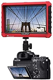 Lilliput A7S 7-inch 1920x1200 IPS Screen Camera Field Monitor 4K HDMI Input Output Video for DSLR Mirrorless Camera Sony A...