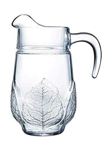 Luminarc ARC 34691 Aspen Krug, 1.3 Liter, Glas, transparent, 1 Stück