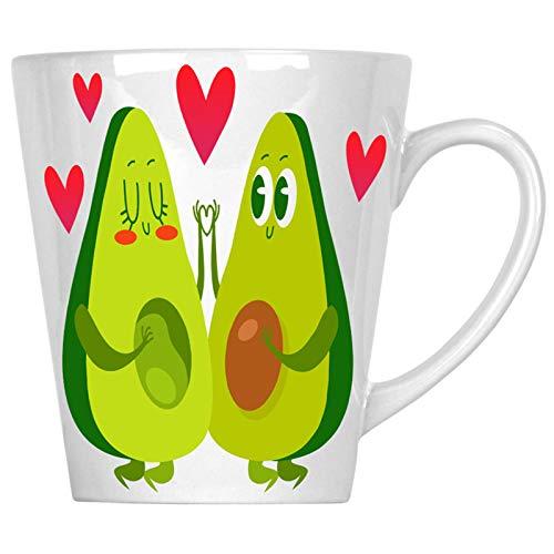 Amo la pareja de aguacate 340 ml Latte taza p479L