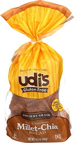 Udi's Gluten-Free Millet-Chia Bread, 14.3 OZ [8 per Case]
