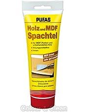 PUFAS 34401000 houten spatel hout en MDF spatel, bruin, 400g