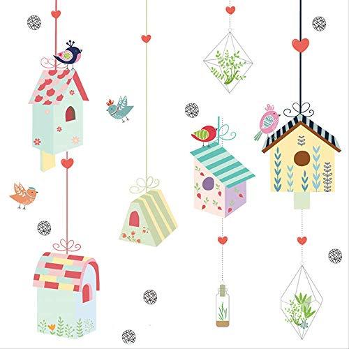 Muursticker Sticky Slaapkamer Applique Decoratie Decoratieve Slaapkamer Indeling Meisje Creatieve Kast Sticker