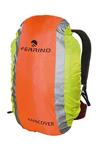 Ferrino Cover Reflex, Couvre-Sac à Dos réfléchissant Unisexe Adulte, Mixte, 72046DGG, Orange/Jaune, 15-30 Litri