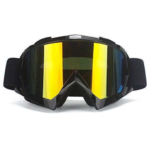 Marca Gafas De La Suciedad Bicicleta Atv Cross Equitación Esquí Fox Motocross Gafas Motor Para Motocicleta Uv Esquí Gafas De Snowboard Lente Transparente 2