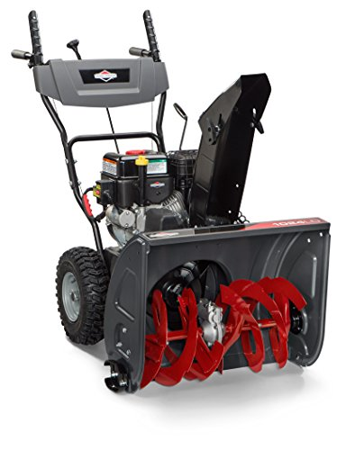 Briggs & Stratton 1024 Standard Series 24-Inch Dual-Stage Snow Blower with Push Button Electric Start and Left SIde Chute Rotation