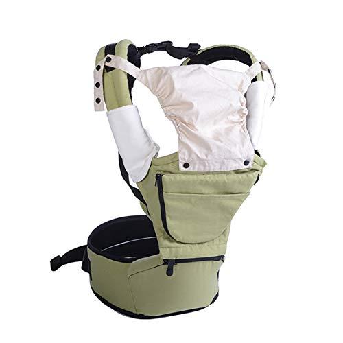 Babytrage - Taburete para bebé (algodón), 123, Verde hierba., talla