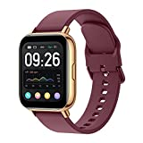 Smart Watch for Android iOS Compatible iPhone Samsung Phone, Women Men Smartwatch Activity Fitness Tracker with Heart Rate Blood Pressure Monitor, Step Pedometer Sport Digital Watch Calorie Counter