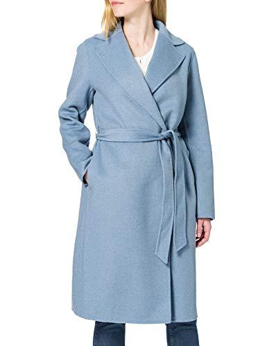 ESPRIT Collection Damen 011EO1G303 Jacke, 440/LIGHT Blue, M