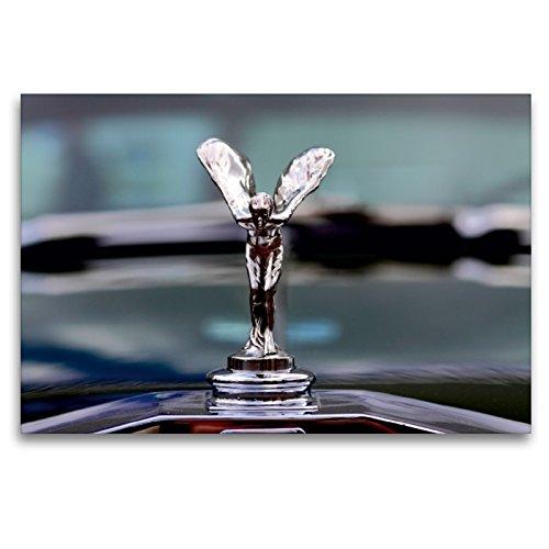 Premium Textil-Leinwand 120 x 80 cm Quer-Format Rolls Royce | Wandbild, HD-Bild auf Keilrahmen, Fertigbild auf hochwertigem Vlies, Leinwanddruck von Peter Schürholz