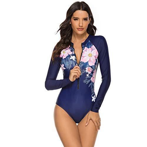 Makalon Damen Sexy Bikini Badeanzug Outdoor Sport Badebekleidung Badeanzüge Schwimmanzug Nassanzüge Frau Schnell Trocknen Taucheranzug Monokini Wasser Surfanzüge Badebekleidung
