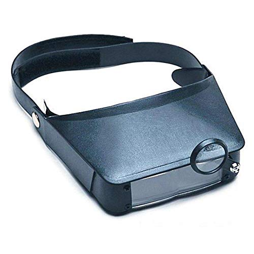 SE Dual Lens, Flip in Binocular Magnifier with Extra Loupe