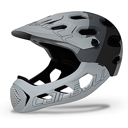 lefeindgdi Bike Helmets for Kids, Full Face Protective Bike Helmet, Extremely Sports Safety Helmet for Riding Cycling