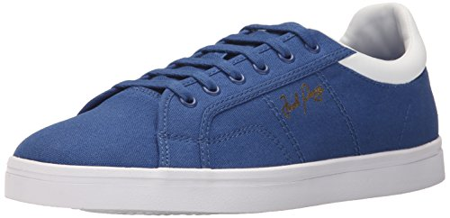 FRED PERRY uomo sneakers basse B8244 955 SIDESPIN CANVAS ROYAL 43 Azzurro