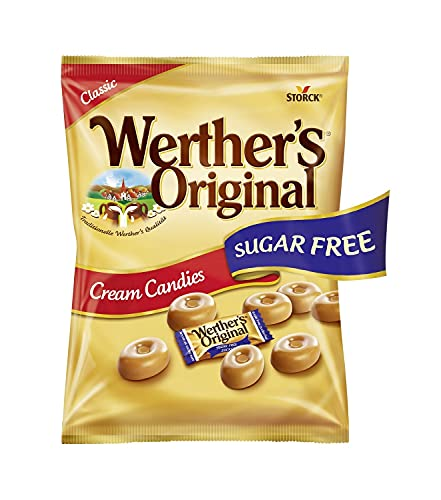 Werther's Original Classic sans Sucres Bonbon 70 g