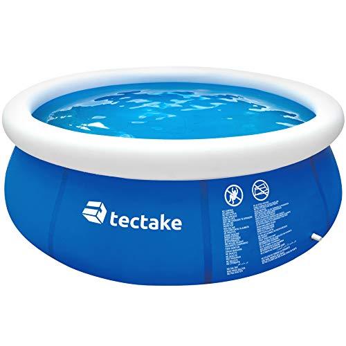 TecTake 800580 Piscina Desmontable, Swimming Pool, Tejido de PVC, Construcción Robusta,...