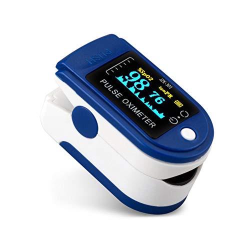 Casualcatch Finger-Saturenmesser mit Sauerstoffsättigung, Digitales Mehrzweck-Messgerät Pulsmesser mit OLED-Display