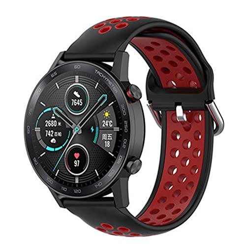 LRJBFC Per GT2 Cinturino in Silicone Cinturino per Huawei Watch GT 2 GT 46mm / GT 2E / Honor Band Magic Band Sport Bracciale da Polso 22mm Correa (Color : 6, Size : 22mm)