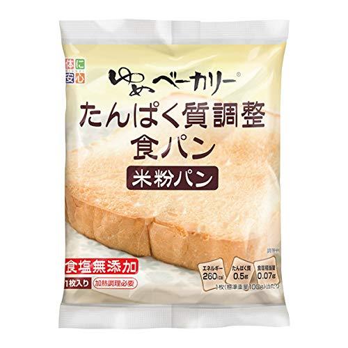 ゆめベーカリー たんぱく質調整食パン 20パック