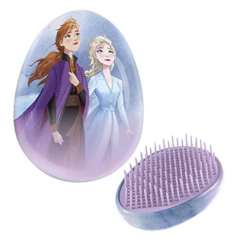 Cepillo para el pelo Frozen niña y niña Elsa y Anna – Peine desenredante
