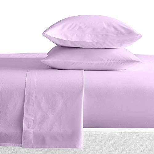 RV King Sheets Luxury Soft 100% Egyptian Cotton - Sheet Set for RV King 72x80 Mattress Lilac Solid 600 Thread Count Deep Pocket