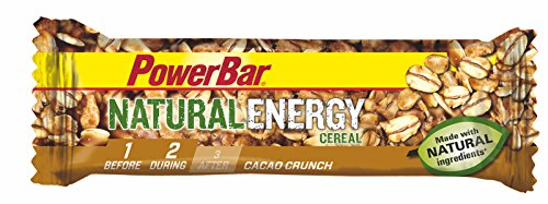 Barrita Energética Natural Energy Cereales PowerBar 24 Barritas x 40g Cacao