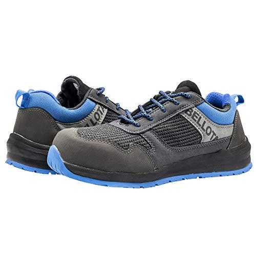 Bellota 72350BB44S1P Zapato de Seguridad, Negro, Azul, 44 EU