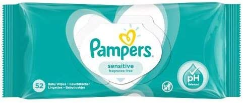 Baby Wipes Sensitive 52 1 of Count Pack Online limited Memphis Mall product