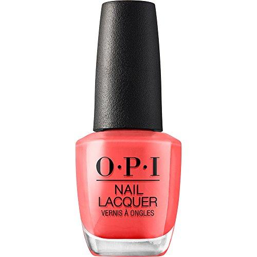 OPI Nail Lacquer - Nagellack in Orangetönen mit bis zu 7 Tagen Halt - Ergiebig, langlebig & splitterfest – 15ml