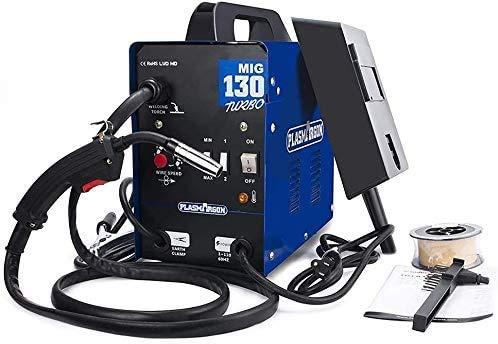 130A MIG Welder Gas and Gasless Welding Machine Flux Core