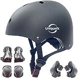 Verstellbarer Helm für Kinder und Schutzausrüstung Knieschützer Ellbogenschützer...