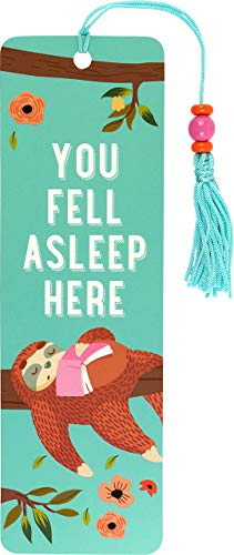 You Fell Asleep Here Beaded Bookmark