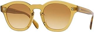 7fd24a668b Oliver Peoples Boudreau LA 5382 167375 Round Sunglasses Dark Honey 48 mm NEW