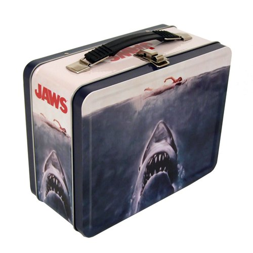 Factory Entertainment Jaws Beach Closed Tin Tote, Toy