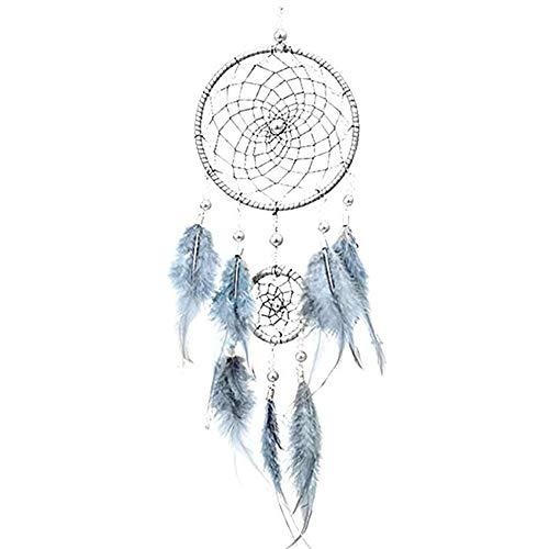 Fait à la Main Dream Catcher Circular Net avec des Perles de Plumes dans Une boîte Cadeau pour la Maison Mur Voiture Pendaison décoration Ornement Cadeau