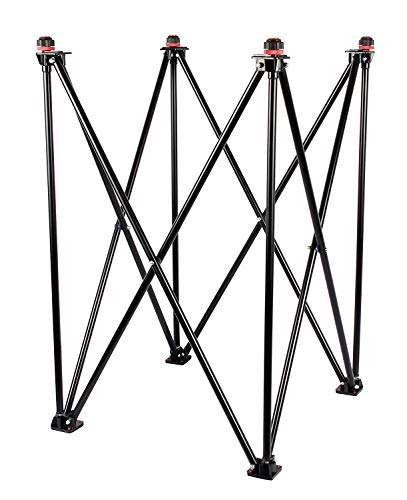 VAIBHAV Foldable Height Adjustable Carrom Board Stand Professional Easy Foldable Indoor Carrom Board Stand Games