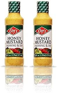 Otts Salad Dressing/BBQ Sauce/Wing Sauce (2 Pack) Multi Listing (Ott's Honey Mustard)
