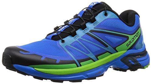 Salomon Wings Pro 2 - Zapatillas de Entrenamiento Hombre, Azul (Bright Blue/Black/Tonic...