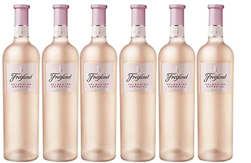 Freixenet vino Rosado Selección Especial - Pack de 6 Botellas de 750 ml - Total: 4500 ml