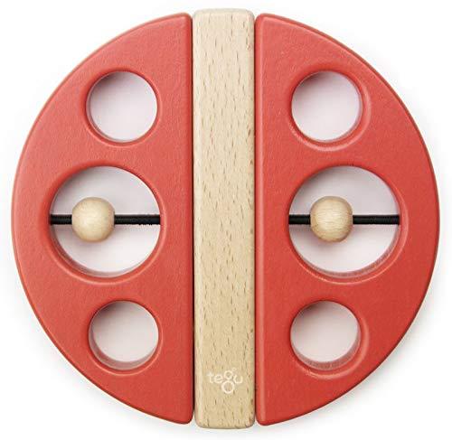 Tegu Swivel Bug Magnetic Building Block Set, Poppy Big Top