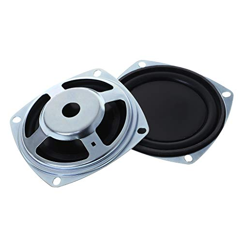 certylu Bass Lautsprecher 77,9mm Vibration Membran Passive Woofer Kühler Membran DIY Reparatur Kit 2 STÜCKE