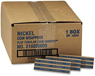nickel coin wrappers