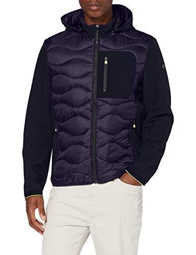 BRAX Herren Style Vince Brx Lab Softshell Jacke, Blau (Dark Blue 22), 50