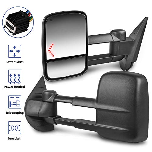 08 chevy silverado towing mirrors - 2
