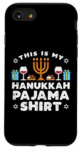 iPhone SE (2020) / 7 / 8 Hanukkah Pajama Shirt Menorah Chanukah Jewish Festival Gift Case