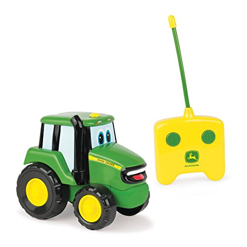 TOMY John Deere Remote Control Johnny Tractor Toy, Green
