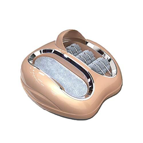 ZSQDSZ Máquina para Cubrir Zapatos Máquina de Limpieza de Suela Inteligente Máquina automática de Lavado de Zapatos Máquina de Limpieza de Zapatos pequeña para el hogar Antideslizante (Color : C)