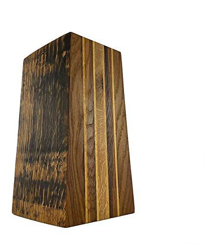 Palatina Werkstatt    Exclusivo bloque de cuchillos vacíos   Hecho a mano con las masivas barriles de viejo roble barril de barriles de vino