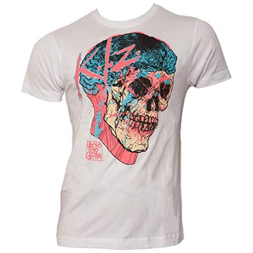 K.I.Z. Gehirn T-Shirt Weiss L